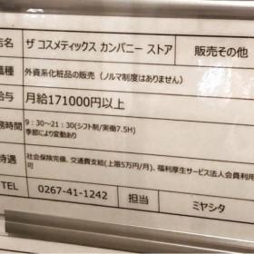 ザ コスメティックス カンパニー ストア 軽井沢プリンスショッピングプラザ店