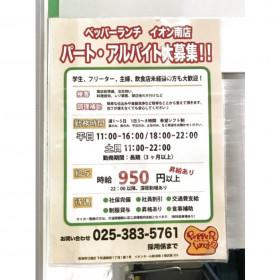 ペッパーランチ イオンモール新潟南店