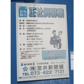 毎日新聞(株)宮井新聞舗 城東販売所