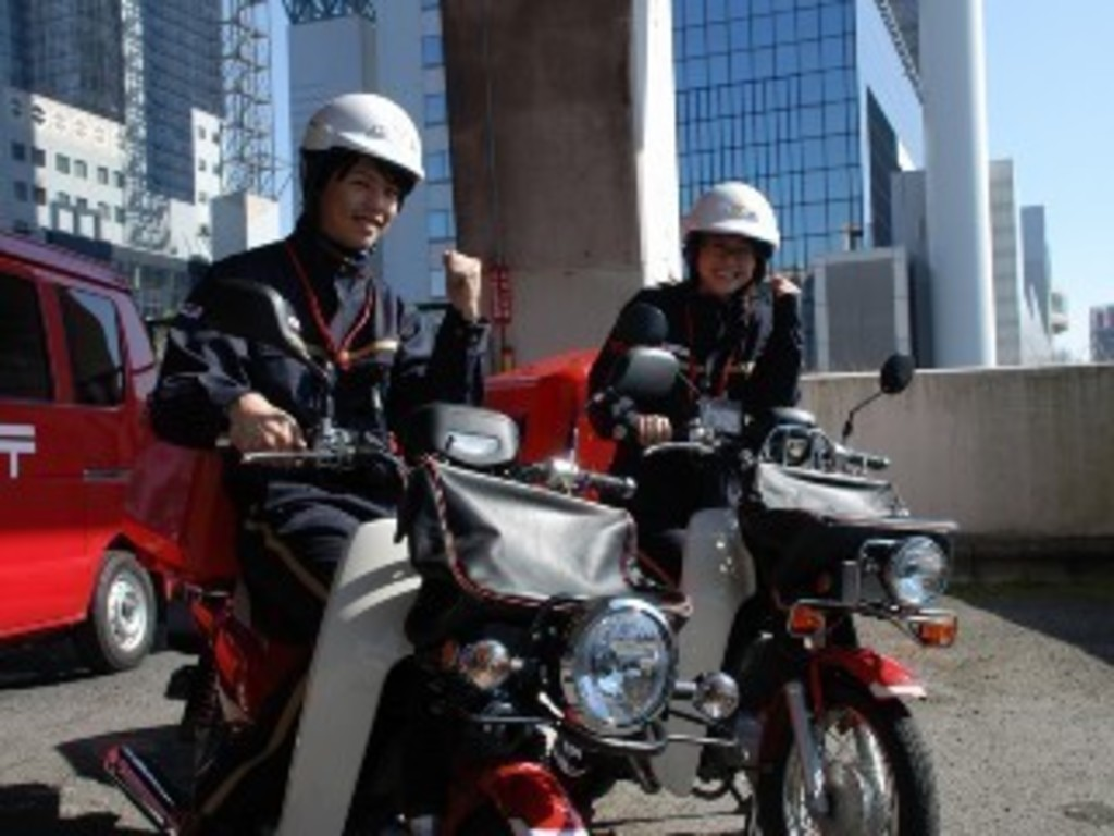 久御山郵便局 【長期】バイクに...