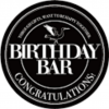 BIRTHDAY BAR