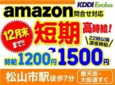 【12月末まで→期間限定】高時給1200円 amazo...