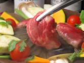 赤ワインと美味しいラム肉のマリアージュ lamb