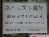 Nail Art:Ecrit(ネイルアート エクリ)