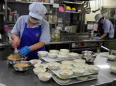 尼崎市の高齢者福祉施設内厨房
