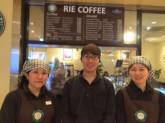 リエコーヒーの企業内カフェ