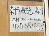 中日新聞 東浦森岡専売店 小山新聞店