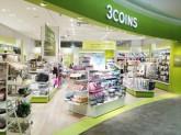 3COINS王子metropia店