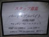 レストラン★HASHIMOTOでスタッフ募集中★