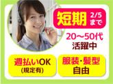 ≪即日〜来年2/5迄短期・単発≫★カンタン!保険のご案...