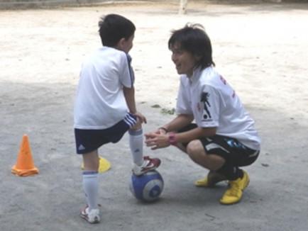 サッカーの個人指導(滋賀県大津市エリア)