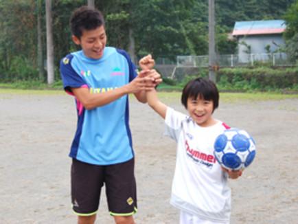 サッカーの個人指導(島根県松江市エリア)