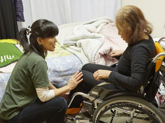 介護はやりがいのあるお仕事です。ご応募お待ちしています!